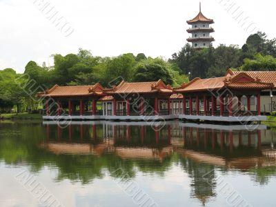 Chinese Pagoda & Pavilion