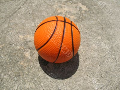 Simple Basketball On The Courts