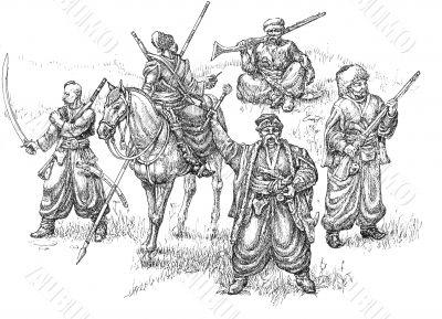 cossacks illustration