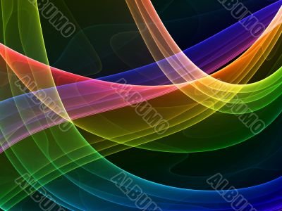 mystical colored curves