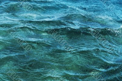 Background of a surface of the sea