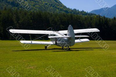 Russian Biplane Antonov