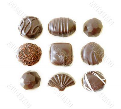 Dark Chocolates Assortment