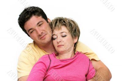 Sweet young couple