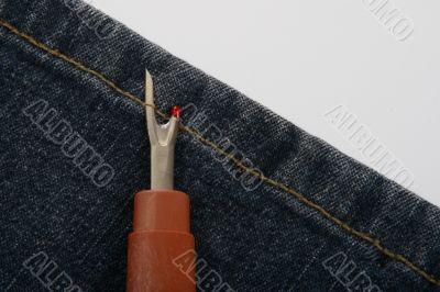 Unrip jeans
