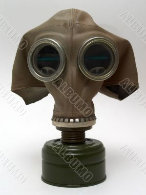 old gas-mask