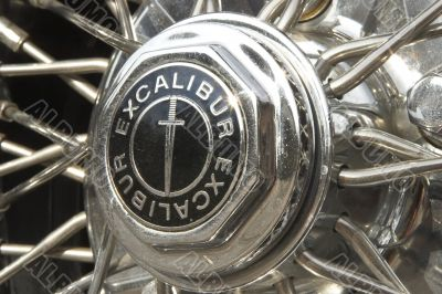 Emblem of the car