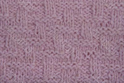 Pattern from a wool