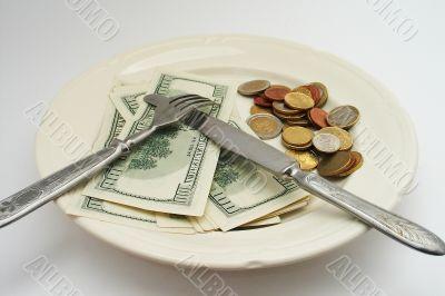 salary for food