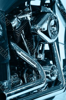 Engine of Motorcycle