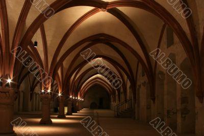 night in monastery