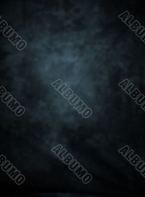 Blurred vignetted background blue cast