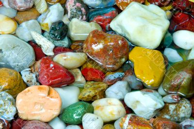 colourful pebble