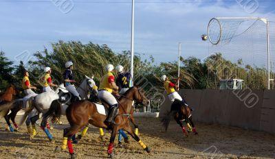 Horseball  team sport