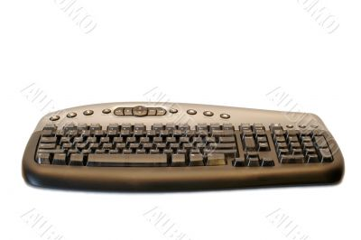 Ergonomical wireless computer keyboard