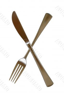Fork And Knife silverware