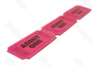 Three Admit One Ticket