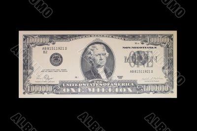1 Million Dollar Bank Note