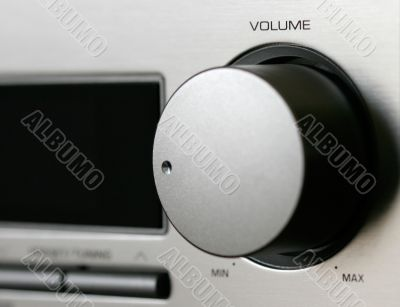 Hi-Fi Receiver close-up