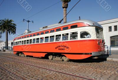 Historic Streetcar in San Francisco