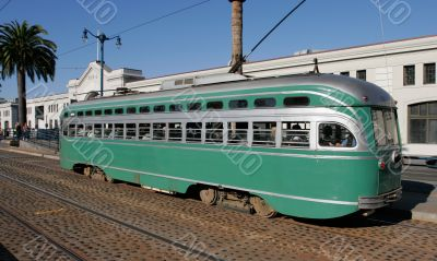 Historic Streetcar in San Francisco