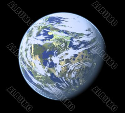 Computer Genrated Planet