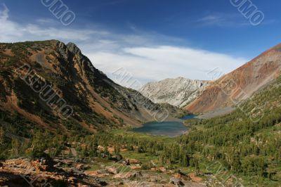 Lakes in Yosemite National park