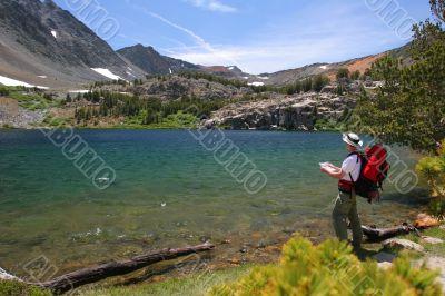 Backpacking in Yosemite National Park