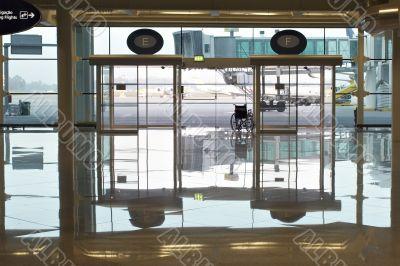 airport doors