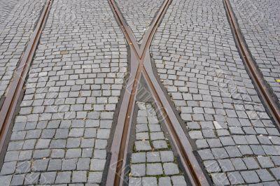 rail crossroad