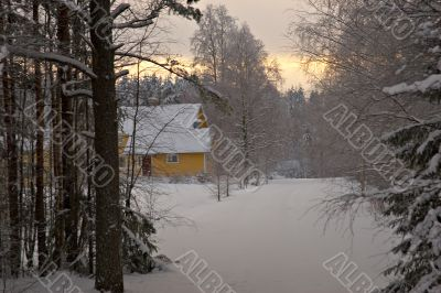 winter at countryside