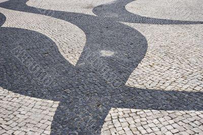 pattern on pavement