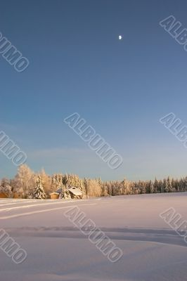winter countryside