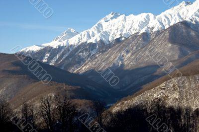 stubble of mountain