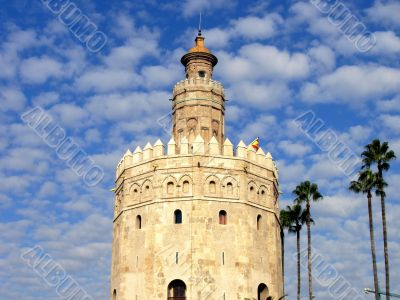 Torre del Oro in Sevilla