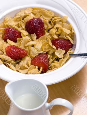 Cereal with Strawberries 5