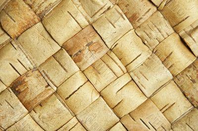 wicker birch texture