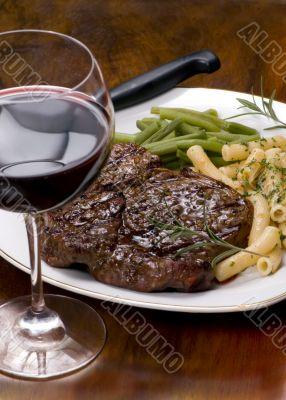Rib Eye Steak Dinner 4