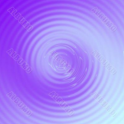Simple Purple Swirl