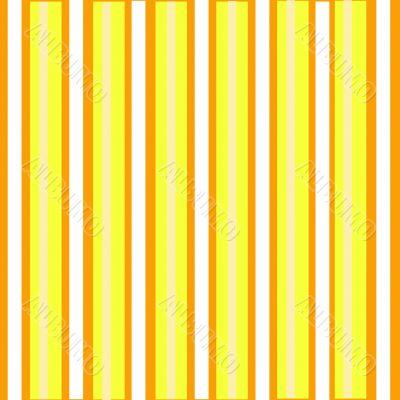 Simple Orange Stripes Background