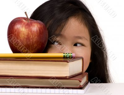 Education Series (looking at the apple)