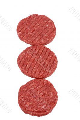 Hamburger Series (Raw Meat)