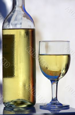 White wine of the alentejo region