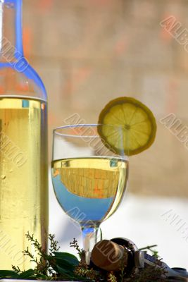 White wine of the alentejo