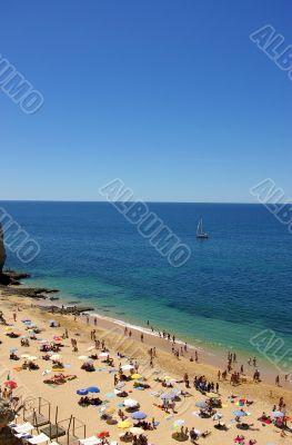 Beach in Algarve region