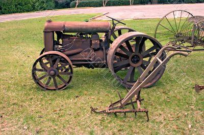 antique farming equipment