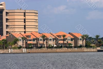 waterfront townhomes