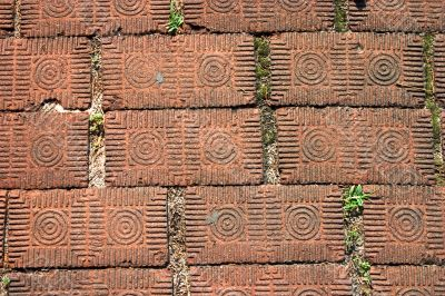 old style brick pavers