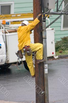 telephone repairman