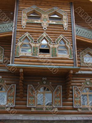 Masters city, the decorated window